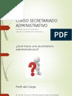 Primera Clase Secretariado - Privada