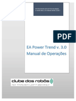 Manual de Operações Do EA Power Trend 3.0 Versão 1.0