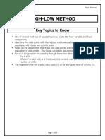 High-Low Method ER.pdf