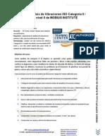 Curso Análisis de Vibraciones ISO Categoría 2