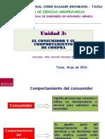 UNIDAD 3 2016 Comportamiento Consumidor Negocios