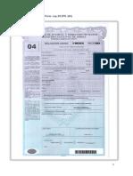 FORMULARIOS DE TERCEROS ORGANISMOS ARGENTINOS  PARA LA IMPORTACION Y EXPORTACION