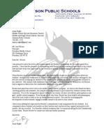 r kwiatkowski letter of recommendation