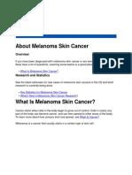 ABout Melanoma Skin Cancer