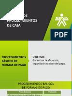 Procesos de Area de Caja 2018