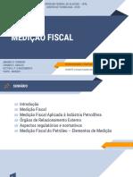 Medição Fiscal AMANDA SOUZA FERREIRA
