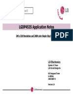 Application Notes LGDP4535 Ver2.0