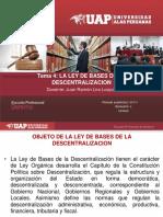 4. La Ley de Bases de La Descentralizacion