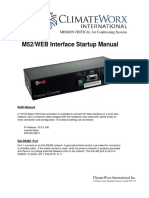 Canatal Modulo Web - m52_web_interface_datasheet