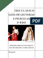 Guía de lectura de Edipo Rei e Cásina. Guía de lecturas e películas  3º de ESO. Curso 2017-18