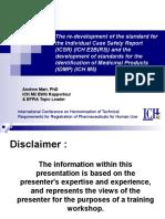 ICSR_IDMP_and_standards_development_1_Nov_2010.ppt