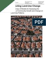 EPA LandUseModels Report