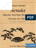 Senda Hacia Tierras Hondas - Matsuo Basho