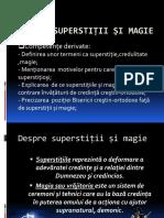 Magie Si Superstitii
