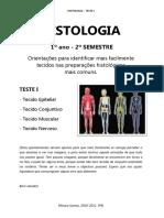 Histologia - Identificação de tecidos - Teste I.pdf
