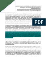 Impacto de Las Regulaciones Normativas en El Quehacer Musical en Colombia Durante Las Tres Primeras Décadas Del Siglo XX
