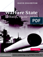 118945159 David Edgerton Warfare State Britain 1920 1970