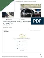 Usados Renault Mégane Sport Tourer - 10 500 EUR, 205 000 Km, 2013 _ Standvirtual