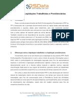 Diferenças entre a legislação trabalhista e a legislação previdenciária.pdf