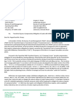 Moffat County Commissioners letter to the Bureau of Land Management