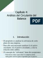 4. Analisis Del Circulante Del Balance