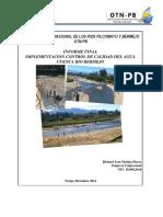 Informe Final Control y Calidad Del Agua 2014- Cuenca Alta Rio Bermejo