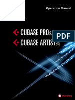Cubase Pro Artist 9 5 Operation Manual En