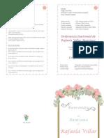 Programa Bautismo PDF