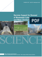 EPA 2011 Decision Support for Renewal of Water and Wastewater Systems