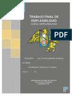 Informe Final de Empleabilidad