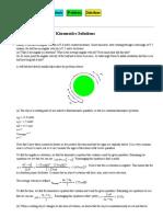 PHYS 1120 Rotational Kinematics Solutions