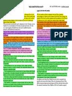 Constitution Party - Platform Preamble Comparison