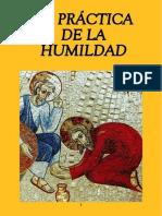 La Practica de La Humildad LEON XIII