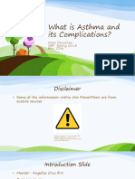 what is asthma and its complications