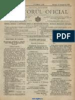 Monitorul Primăriei București 1920