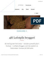 Utflukt til Lofotpils bryggeri, Svolvær | Hurtigruten