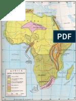 Mapa Geológico África