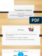 the translation station