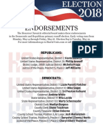 Print-and-take PDF of Houston Chronicle editorial board primary runoff endorsements