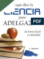 2012. Jimenez, L. Lo que dice la ciencia para adelgazar de forma fácil y saludable
