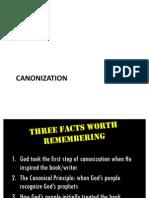 Canonization of the OT - Lesson 5