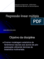 Regressao Linear Multipla