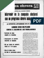Prensa Obrera No. 128
