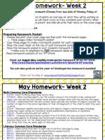 may homework- week 2