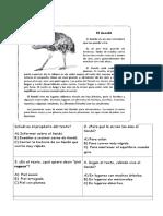 Artículo Informativo Prueba de Lectura.
