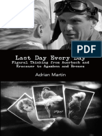 Adrian Martin - Last Day Every Day - Figural Thinking From Auerbach and Kracauer to Agamben and Brenez (2012, Punctum)
