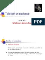 Telecomunicaciones Unidad 3