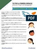 Pacto Primera Infancia Datos Yucatan 2018