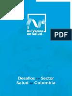 Desafios Del Sector Salud en Colombia