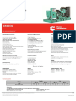 Generadores C500D6